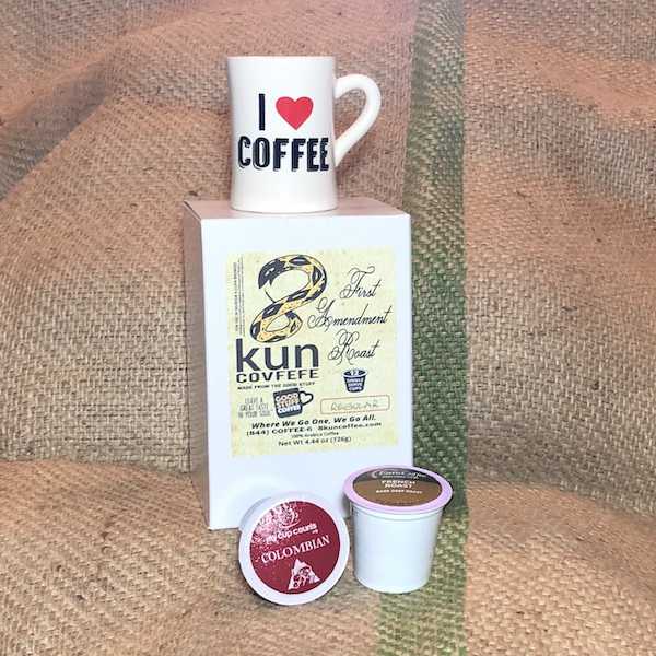 8kun Coffee 12-count Carton of Single Serve Cups