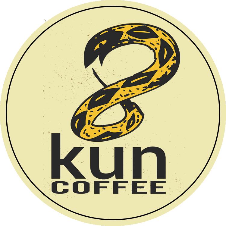 8kun Coffee Round Logo w/ Border