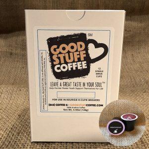 Good Stuff Coffee 12-count Carton of Single Serve Cups