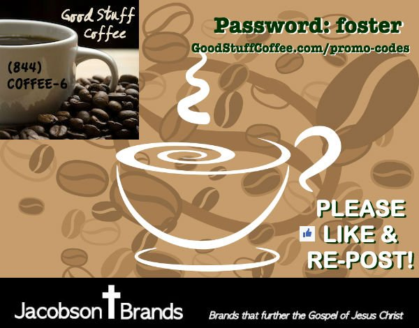 Jacobson Coffee is now Good Stuff Coffee