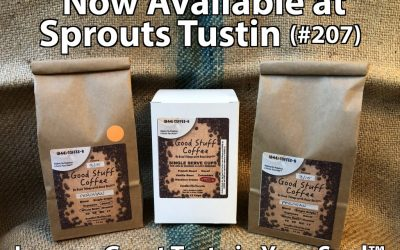 Good Stuff Coffee is Now Available at Sprouts!